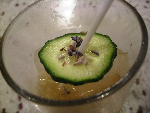 Cucumber Lavender Sour