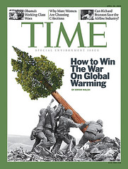 Time Magazine Cover - winning the war on global warming