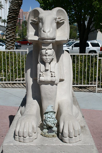 Myself And One Of The Luxor Statues