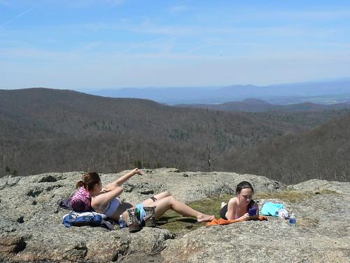 Backpacking - Saturday - Spy Rock - Sunbathers on Top