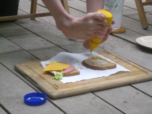 The Foot Sandwich