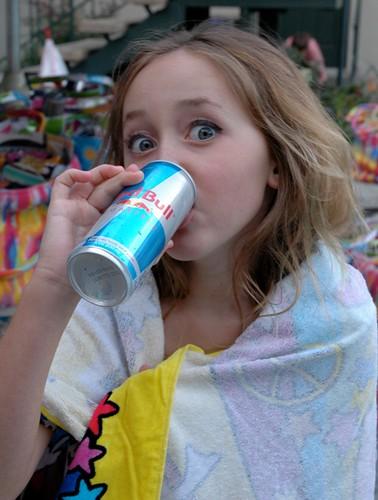 Noie Cyrus Drinks Red Bull?