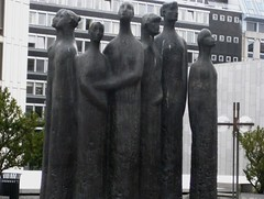 sculptures around town