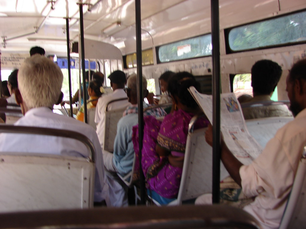 Local bus at pondicherry