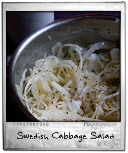 Swedish Cabbage Salad