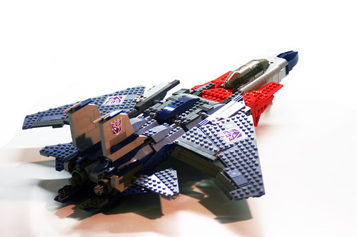 LEGO Starscream Transformer