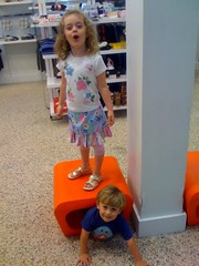 kids at the mall