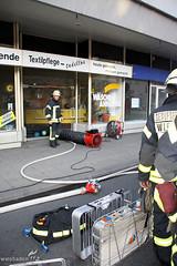 Feuer in Reinigung Biebrich 30.07.09