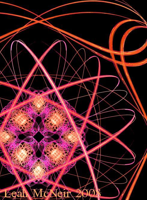 Fractal Art: Atom Bloom (showdetail)