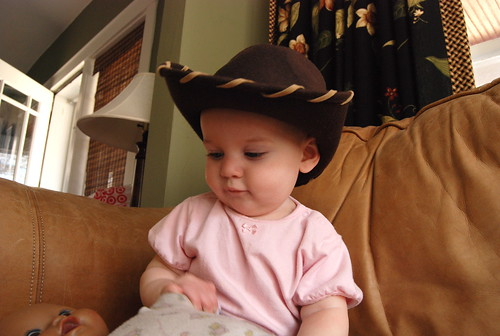 lady james is a cowgirl