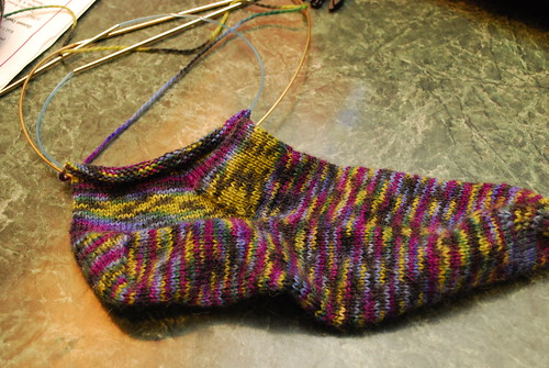 First Pair of Socks by you.