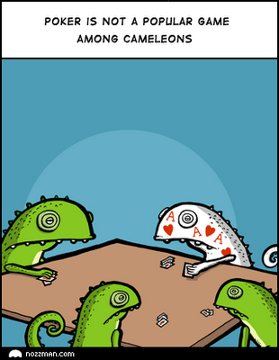 camaleones