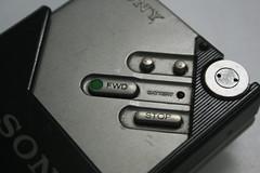 sony walkman - buttons (by kapil_b)