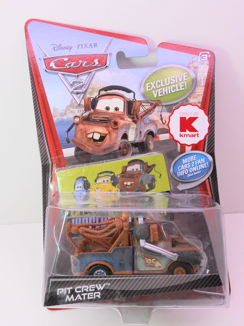 disney cars 2 kmart exclusive pit crew mater (1)