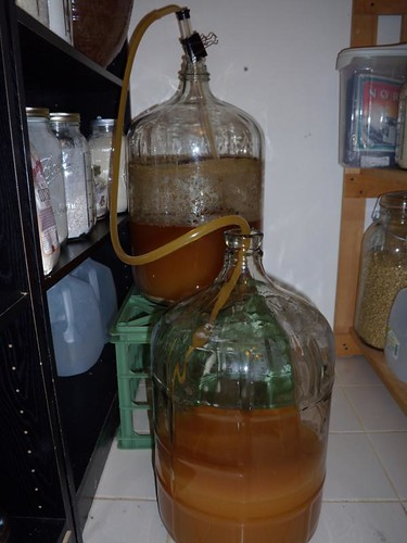 Racking Hefeweizen to secondary