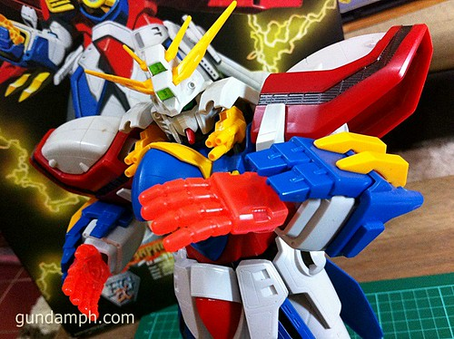 1/60 God Gundam HGEX (aka Burning Gundam)