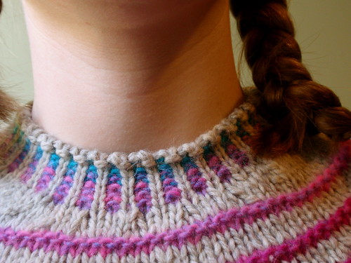 stripes! collar detail