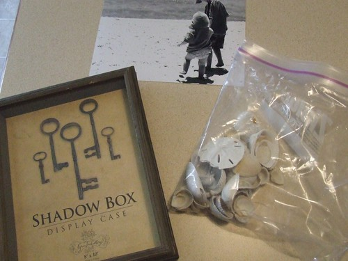 Shell Shadowbox Materials