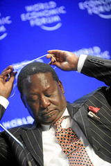 Raila Amolo Odinga - World Economic Forum Annu...