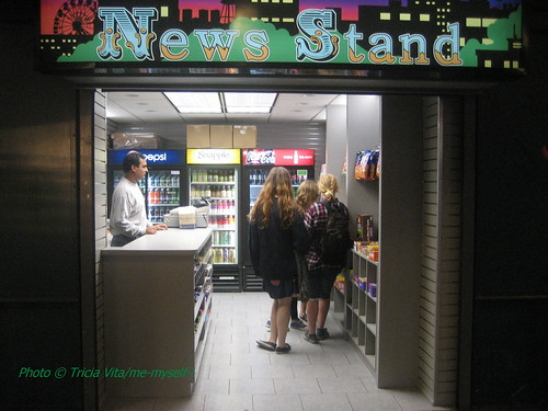 Newly opened Newsstand at Stillwell Terminal in Coney Island. Photo © Tricia Vita/me-myself-i via flickr