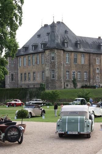 Schloss Dyck und Oldtimer