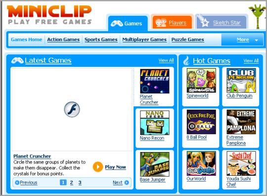 miniclip games free play