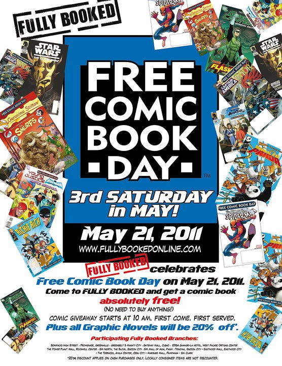 Free Comic Book Day 2011 Fully Booked