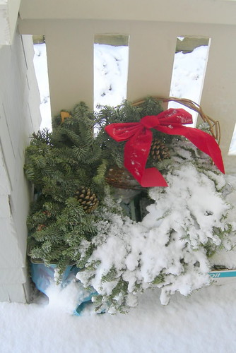 Half-Snowy Wreath