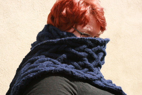 This scarf could protect you from nuclear fall out. Seriously.