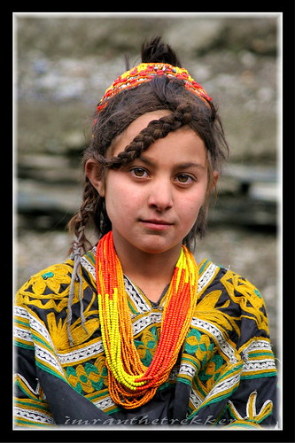 A Kalash Cherub, Hindukush, Kalash valleys