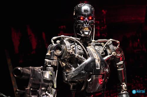 terminator cyborg robot cyberpunk