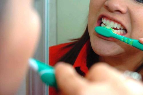 cepillarme los dientes