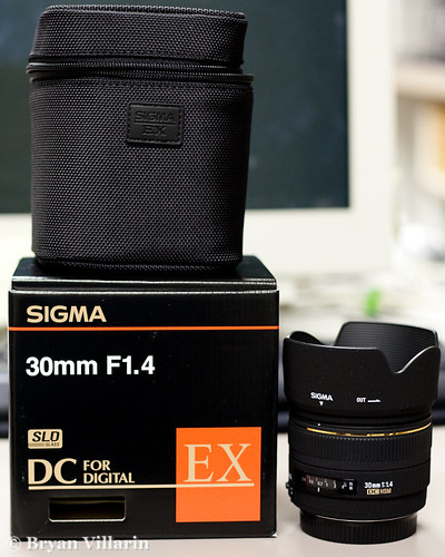 A new lens - Sigma 30mm f/1.4