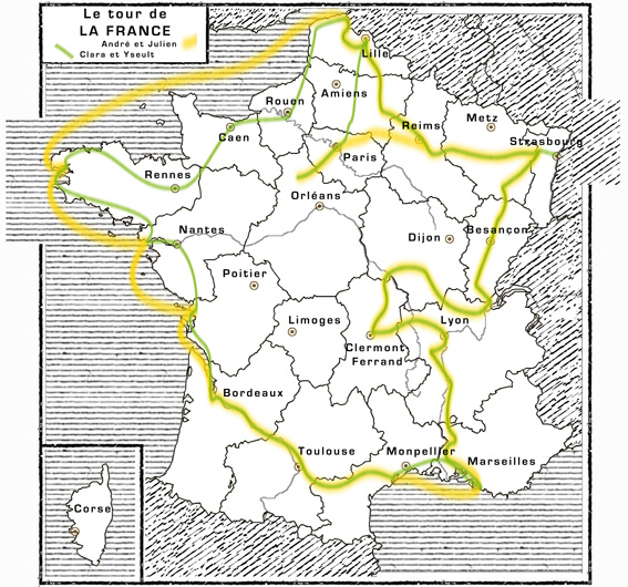 Cet été, un tour de France par deux enfants - Les z'ed