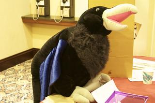 RavenCon mascot
