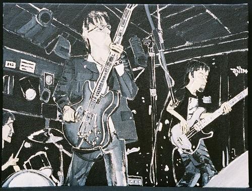 painting of Phonocaptors by Dana Smith, asbestossister.com