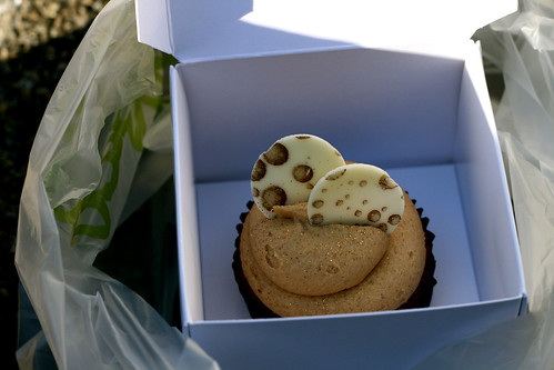 Monday: Coffee & Pecan cupcake from Tempt. Not good.