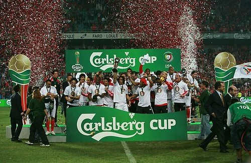 Final Carlsberg Cup - Vencedor Benfica
