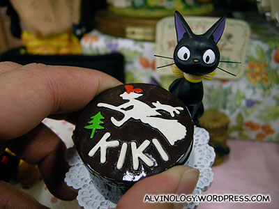 The cat from Hayao Miyazakis anime movie, Kikis Delivery Service