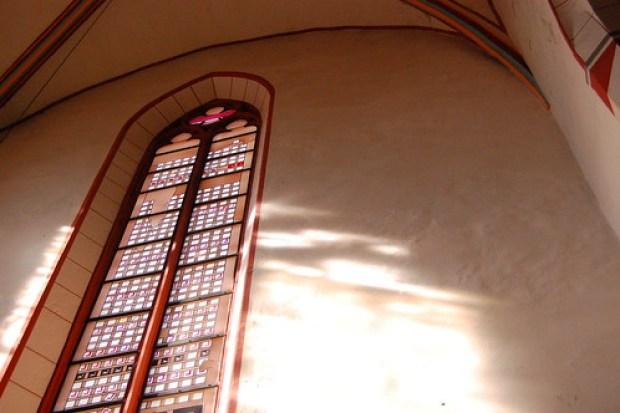 Göttingen's striped church