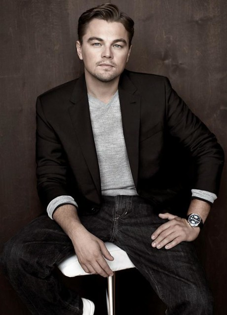 Leonardo DiCaprio (李安納度‧迪卡比奧) & his TAG Heuer (豪雅表) Grand Carrera 3
