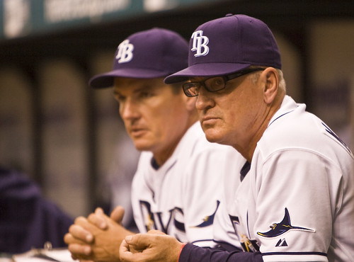 5/30 Joe Maddon, Tampa Bay Rays Manager by jonathon.
