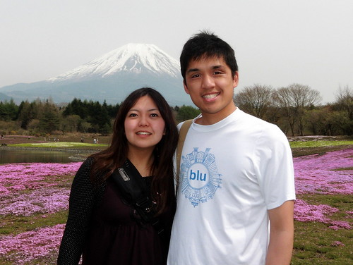 Fuji in the background