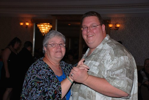 Pete and his Mom Dancing by you.