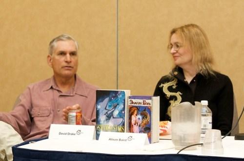 David Drake and Alison Baird at Ad Astra