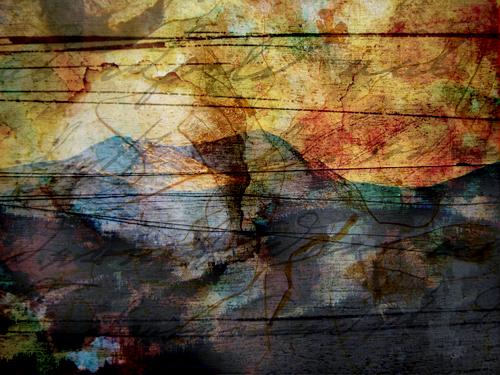 (untitled image - 2b) photo collage (c) 2009, Lynne Medsker