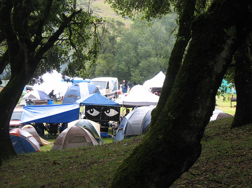 Speakeasy Tent at Anderson Valley