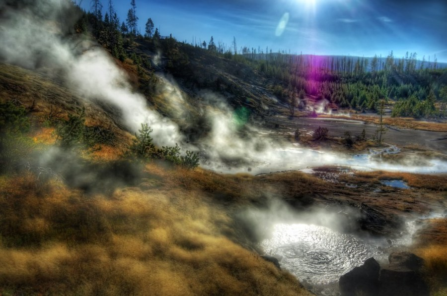 Where Geothermal Steam Covers the Land (by Stuck in Customs)