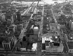 Downtown Richmond, 5th to 8th streets south of...