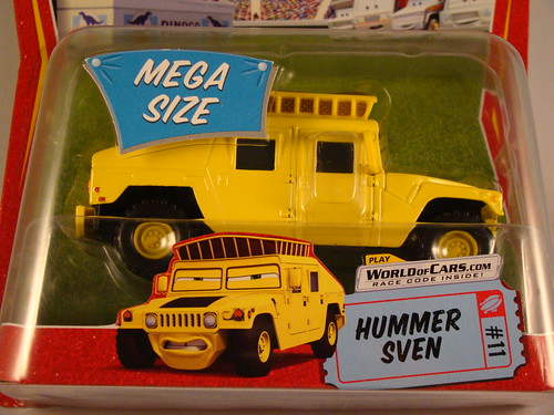 CARS Megasized Hummer Sven (2)